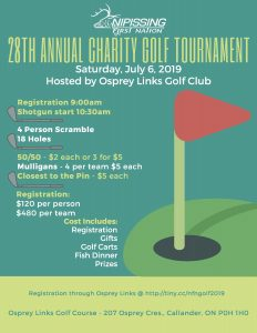 NFN Annual Golf Tournament @ Osprey Links