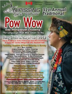 Annual Traditional Pow Wow @ NFN Cultural Lands
