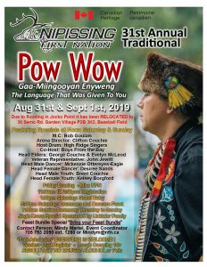 Annual Traditional Pow Wow @ NFN Community Complex
