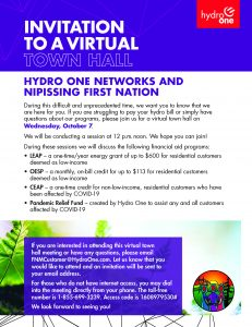 Hydro One Virtual Town Hall