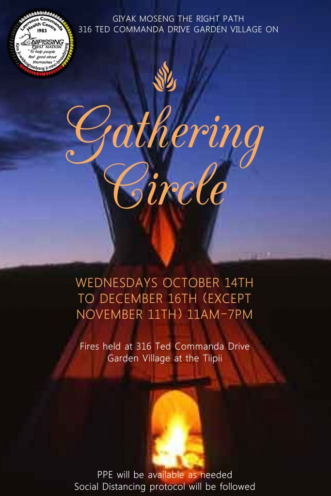 Gathering Circles - Every Wednesday @ Right Path Tiipii