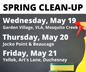 Spring Clean-Up Days
